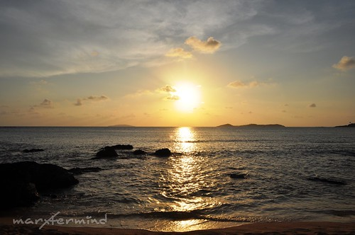 Calaguas_Mahabang Buhangin Sunset 01