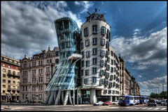 Dancing House, Prague (szeke) Tags: city urban architecture czech prague praha praga frankgehry 2009 photomatix tancicidum detailsenhancer platinumheartaward mygearandme mygearandmepremium