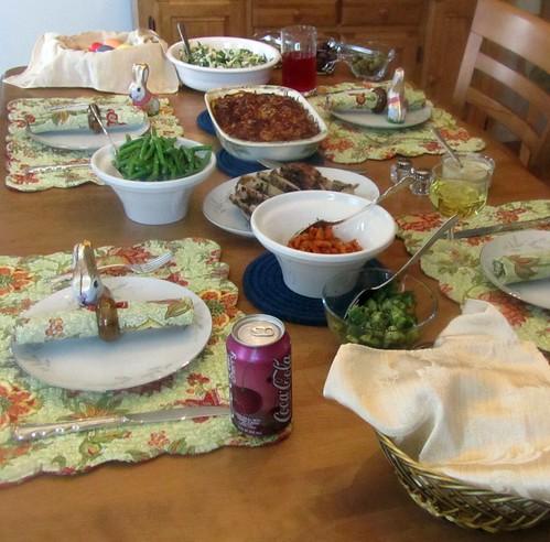 Easter Dinner, 2011