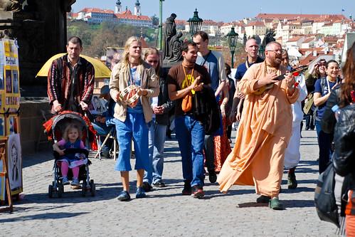 Hare Krishna, Praha Krishna