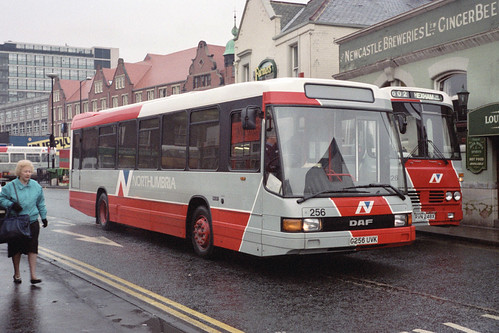Northumbria Motor Services DAF SB220 / Optare Delta 256 (G256UVK)