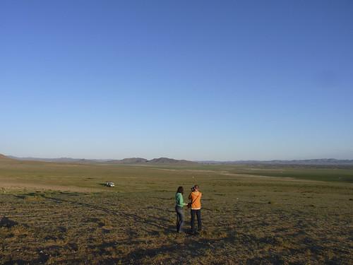 Seuls dans la steppe