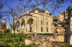 Church Of The Assumption (Didenze) Tags: old light shadow church stone rural spring historic belltower christian bulgaria goldenhour canon450d uspeniebogorodichno didenze uzundzhovo