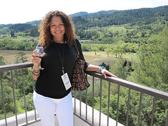 Sterling Vineyards,Napa Valley Ca. () Tags: california ca friends vacation woman mountain holiday glass girl northerncalifornia chica wine piercing winery jeans linda winetasting bacchus sterlingvineyards napa vin norcal latina wineglass posh cleavage frau fille rtw ebony busty blackgirl stacked vacanze winecountry vino  morena caliente montaas wein wineglasses kalifornien foodie roundtheworld wijn  weekendgetaway tonguepiercing globetrotter nosepiercing lamorena gwin bjerg whitejeans  worldtraveler vuori     californi goldexperience