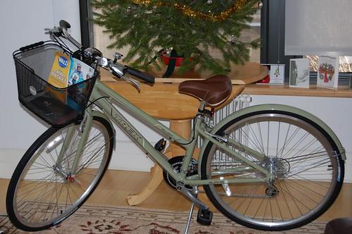 Stolen Green Trek Bicycle Venice Beach