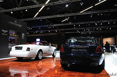AutoRAI 2011: Rolls-Royce Phantom Drophead Coupe & Ghost (Jeroenolthof.nl) Tags: bentley mulsanne continental gt 2011 rollsroyce ghost rolls royce phantom drophead coupe bugatti veyron 164 16 4 autorai amsterdam motor show supercar carshow molsheim france netherlands holland the bmw 1 serie m coup 1m m1 sang noir limited edition ferrari ff four kroymans hilversum hatchback rampante silver red black hessing lamborghini gallardo lp5604 lp560 superleggera orange 458 italia california 599 gtb fiorano mnchen munchen munich jeroen olthof jeroenolthof jeroenolthofnl wwwjeroenolthofnl httpwwwjeroenolthofnl automotive photographer photography