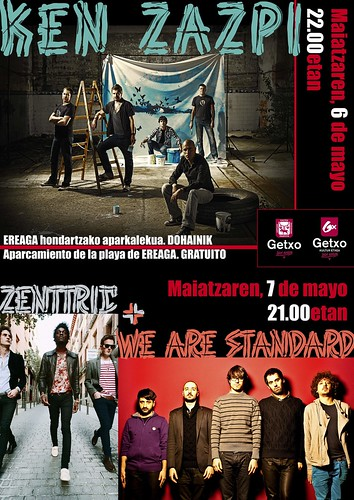 ken zazpi + zentric + we are standard