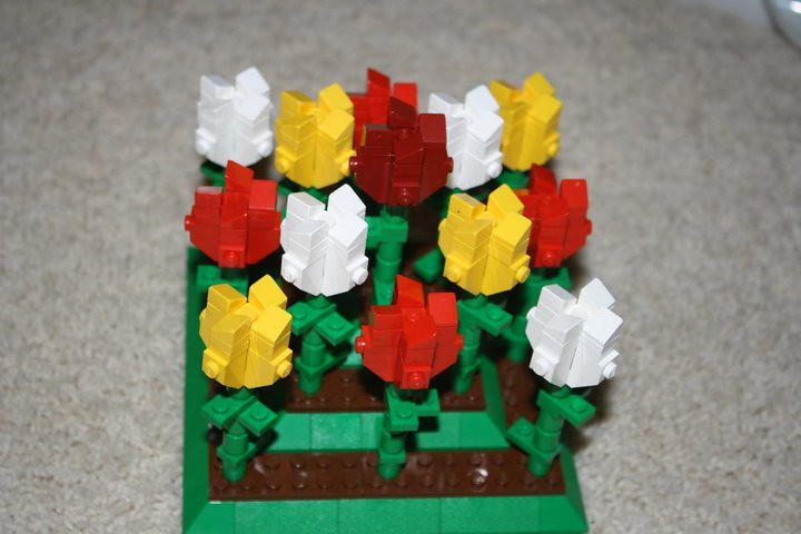 Flower Arrangment Mothers Day Lego Digital Designer And Other