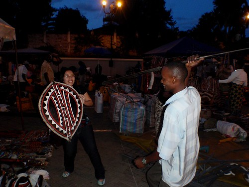Me in Masaai Market