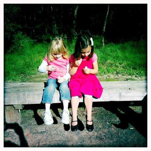 friends + bubbles