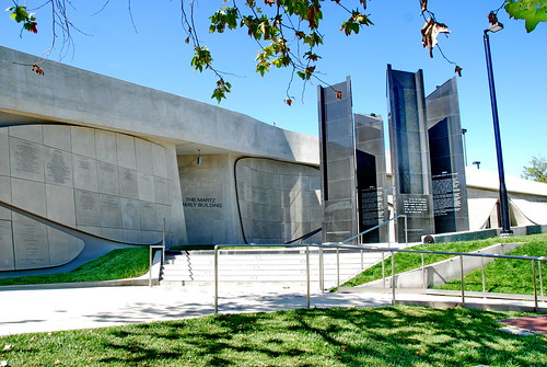 Los Angeles Museum of the Holocaust, Hagy Belzberg Architect 2011 by Michael Locke