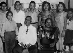 Jose Lujan Family Photo, 1949