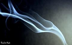blue mist. (kgmodi0601) Tags: blue mist smoke smell swirls incense scent bluemist