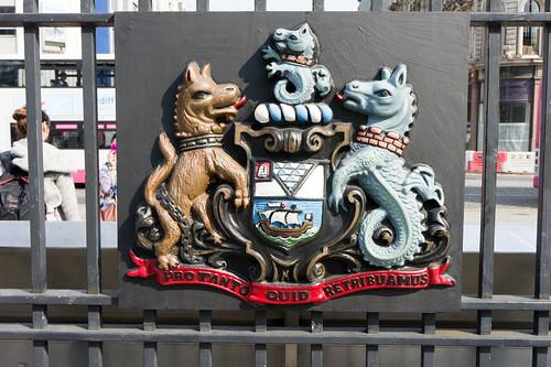 Belfast City Hall - Belfast Coat Of Arms
