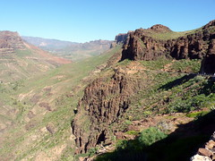 Gran Canaria - Degollada De Las Yeguas in the Winter