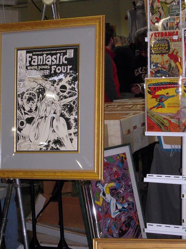 the cover to fantastic four 72