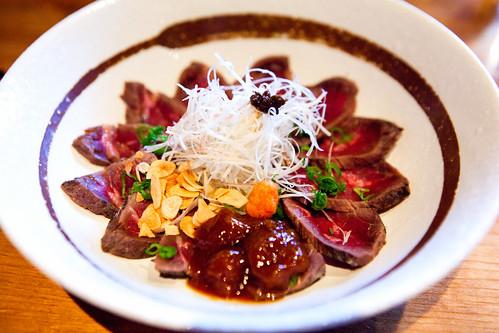 Evening's Special: Kobe beef tataki