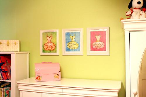 Dress ~ watercolor prints