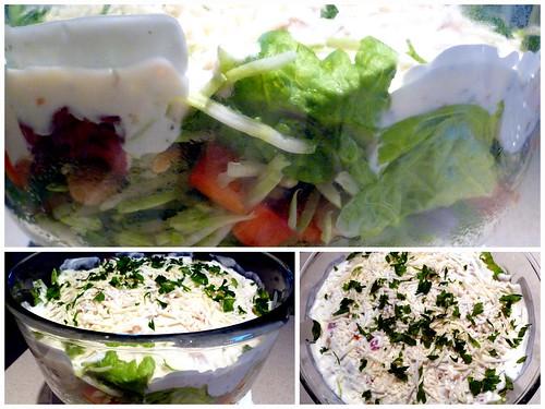 Italian Layered Salad