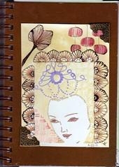 Embellished Art Journal (theHyperMonkey) Tags: rubberstamps alteredart timholtz zentangle embellishedart blockheadstamps