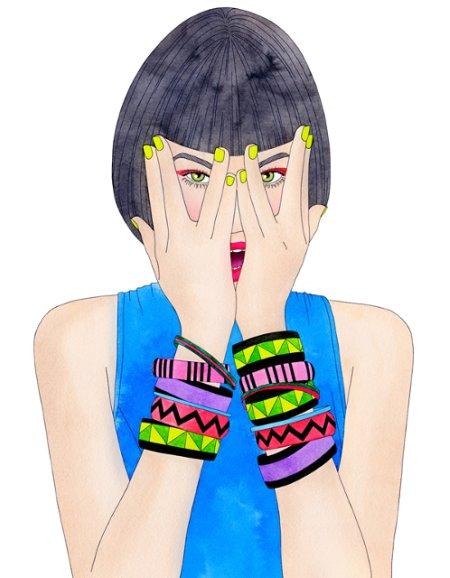 FotyMody magazine illustration  by I Missy You