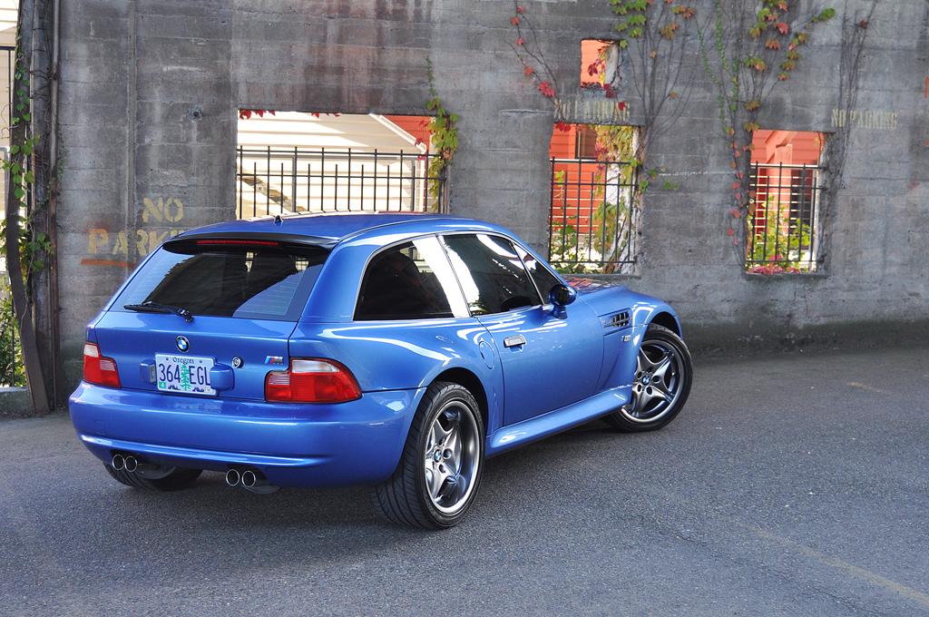 2001 M Coupe  Estoril Blue  Black  Coupe CartelCoupe Cartel