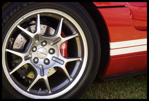 Ford Gt Rear Wheel Brake By Rowery On Flickr