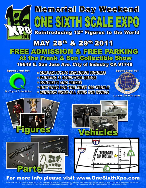 First Annual One Sixth Scale Expo