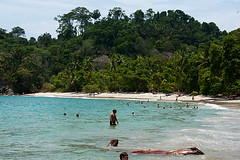 Manuel Antonio beach (DaveMosher) Tags: costarica centralamerica tropics vacation beach manuelantonio pacificocean water