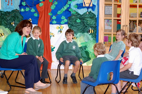 Claire Perry with School Council