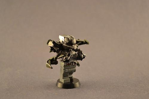 Custom minifig Killzone Helghast Soldier Class- Jetpack Trooper