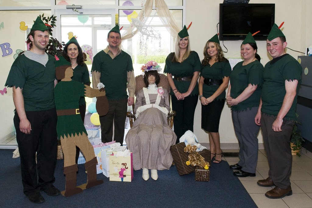 Colonial Bank Holding Baby Shower for the Month of May