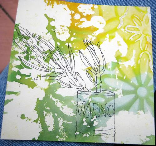 succulent before color