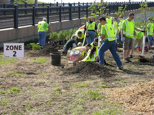 2011 Arbor Day Greenway zone 2
