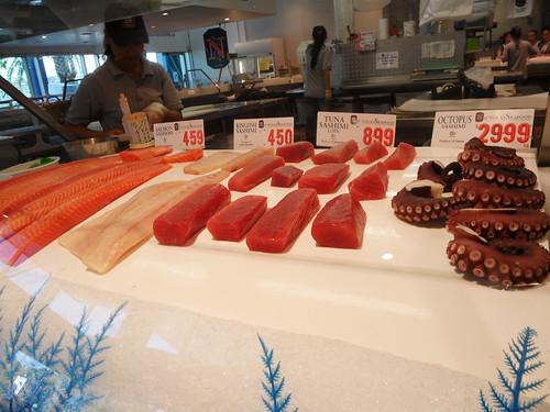 Sydney Fish Market Sashimi