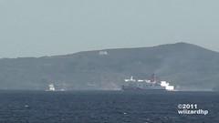 St. Michael the Archangel and SuperCat 23 @ Verde Island Passage (wiizardhp) Tags: verde st michael manila isla archangel navigation negros