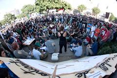 Protests in Spain (Mario Lameiras) Tags: barcelona espaa youth spain espanha crowd catalonia catalunya protests catalua jovenes 15m jovens protestas protestos acampadasol globalcamp