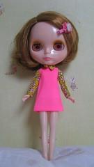 Lili in skipper clothes