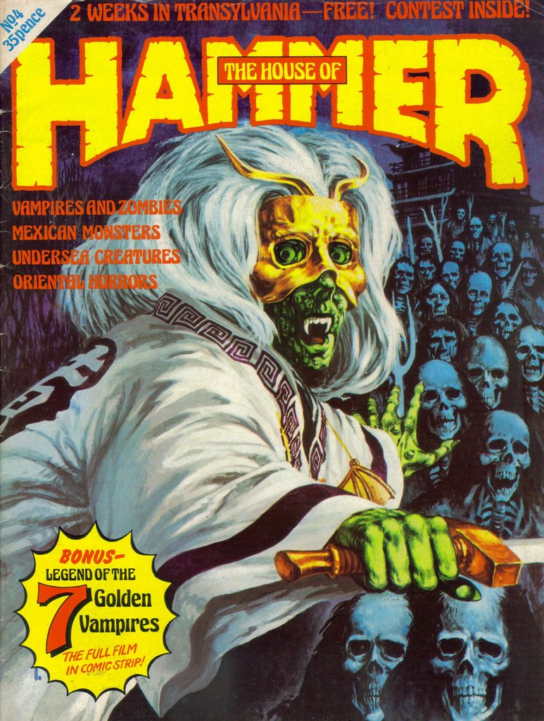 House Of Hammer Magazine - Issue 4 (1977)