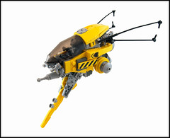 La Gupe (Titolian) Tags: fighter ship wasp lego space craft weapon future cannon strike spaceship speedy blast guepe