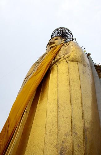 Giant Standing Buddha, Bangkok 2011 16