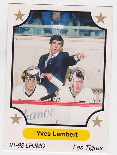 Coach - Yves Lambert Front