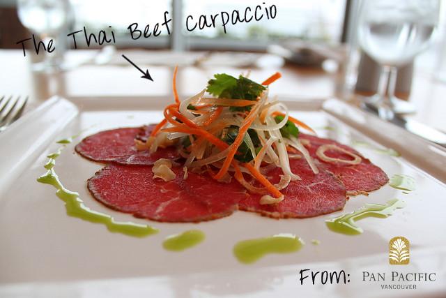 Thai Beef Carpaccio