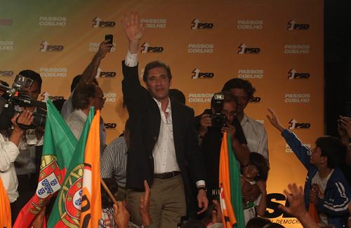 Pedro Passos Coelho Comício em Aveiro
