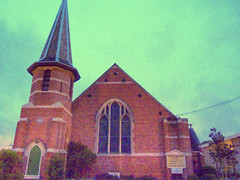 New Brighton Church (Nicks.Place) Tags: newzealand christchurch church architecture earthquake canterbury nz hdr alternative chch nicksplace tonemapped canterburynz dmcfz35