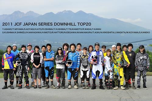 2011 JCF JAPAN SERIES DOWNHILL TOP20