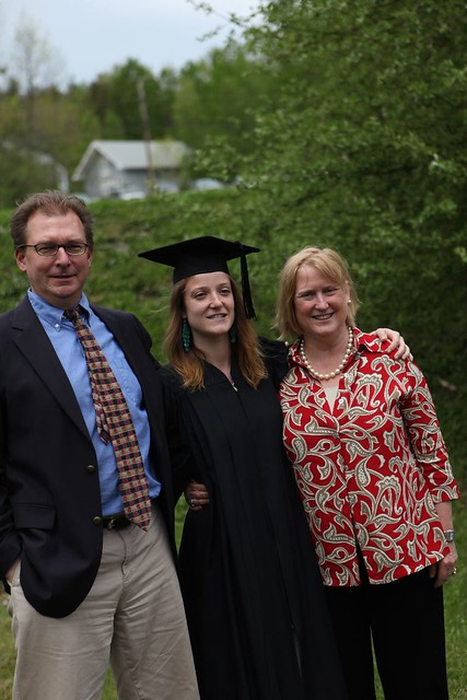 A Grad with Mom and Dad