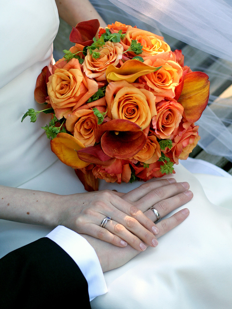 Rose and Calla Lily Bouquet