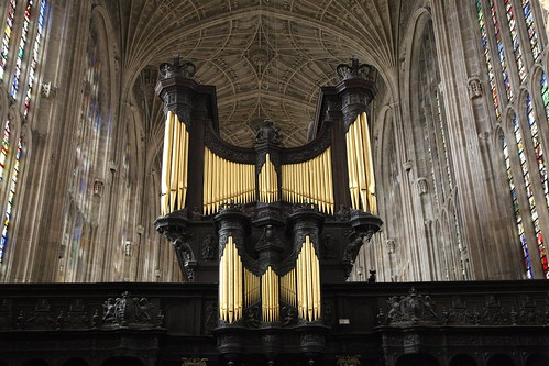 Chapel organ, King's College