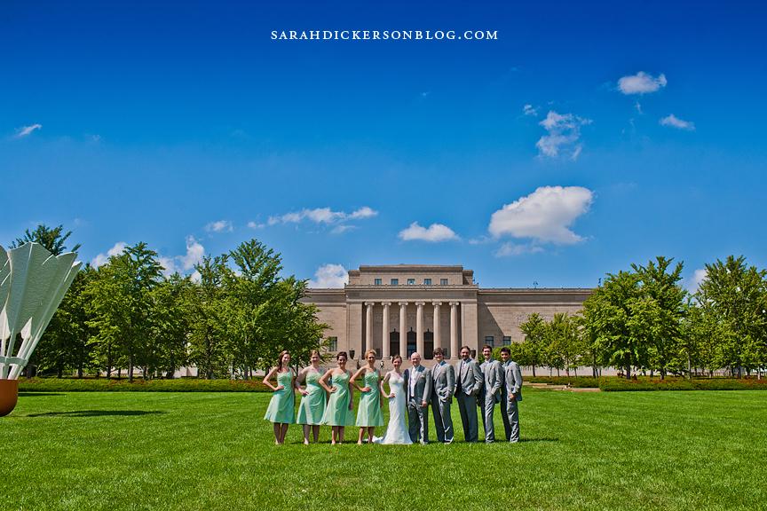 Kansas City wedding photos